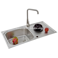 Inset Stainless Steel Kitchen Sink with Drainer