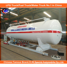 LPG Skid Tank 10mt Cooking Gas Tanker for Nigeria Market