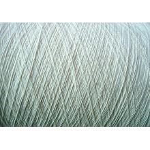 Fils 100% coton blanc cru blanc - Ne10s + 70d