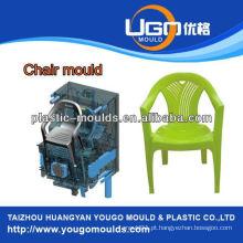 Molde de cadeira de injeção de plástico de diferentes formas, moldes de cadeira