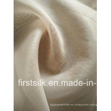 100% seda de seda de tela de organza Fsoz006