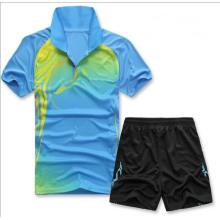 Latest aucun Logo Badminton Sport T Shirt personnalisé Badminton ne porte maillot de Badminton pas cher