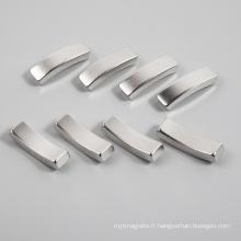 Fabrication personnalisée Forte aimant puissant de cylindre de néodyme