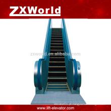 Escada rolante comercial exterior ou interior