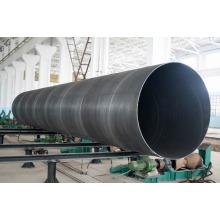 Tubulação espiral do preto do aço carbono de 36 polegadas