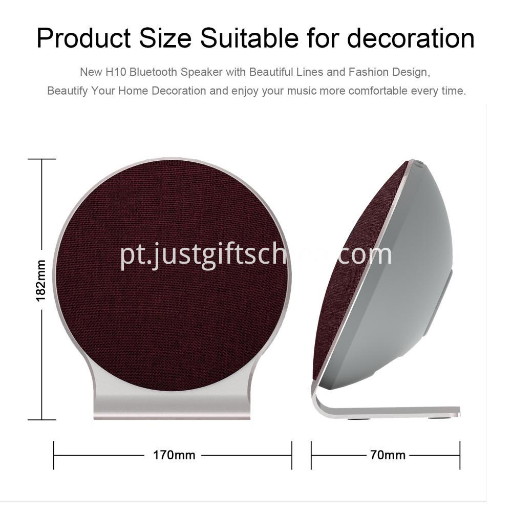 Customized Fabric Bluetooth Speaker