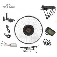Kit de convension de vélo de roue avant électrique de la Russie 48V 1000W avec la batterie