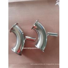 Tipo de Y T de encaixe de tubulação sanitária de aço inoxidável