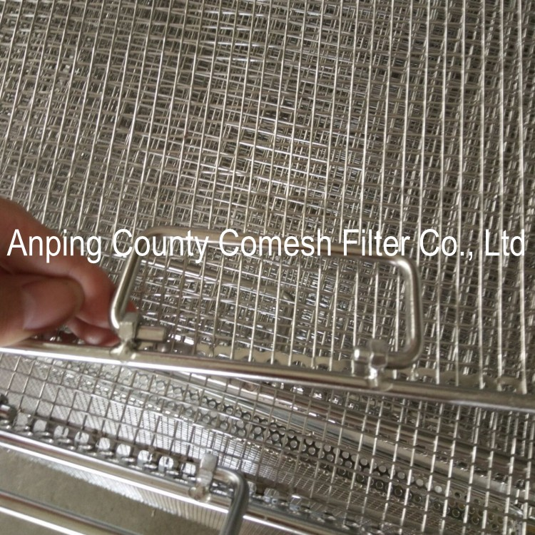 Food Grade Stainless Steel Filter Mesh Trays
