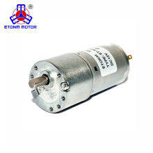 small battery powered motor 30mm diameter 12v 24v with low noise