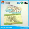 Carte à puce blanche d'Ink Sle4428 de contact de PVC