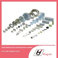 Haute puissance forte N35-52 néodyme bloc/anneau/disque aimant avec ISO9001 Ts16949