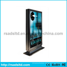 Vertical LED Aluminum Stand Scrolling Light Box