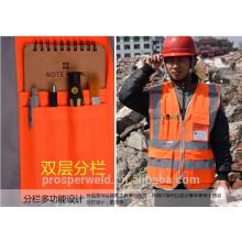 Colete de segurança de alta qualidade reflexão com norma EN20471 & CE, cloting reflexão, colete de reflexão
