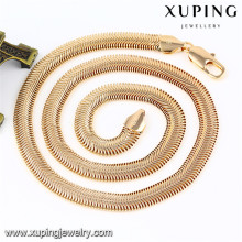 43085 Xuping venta al por mayor de alta gama de moda nuevo diseño de joyas collar