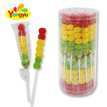 Halal Jelly Pop Candy Customized Traffic Light Soft Lollipop