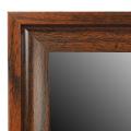 Heiß Verkauf hölzernes Korn über Tür Spiegel 12x48inch