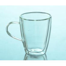 High Quality Double Wall Borosilicate Glass Tea Cup Wholesale