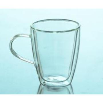 High Quality Double Wall Borosilicate Glass Tea Cup Wholesale