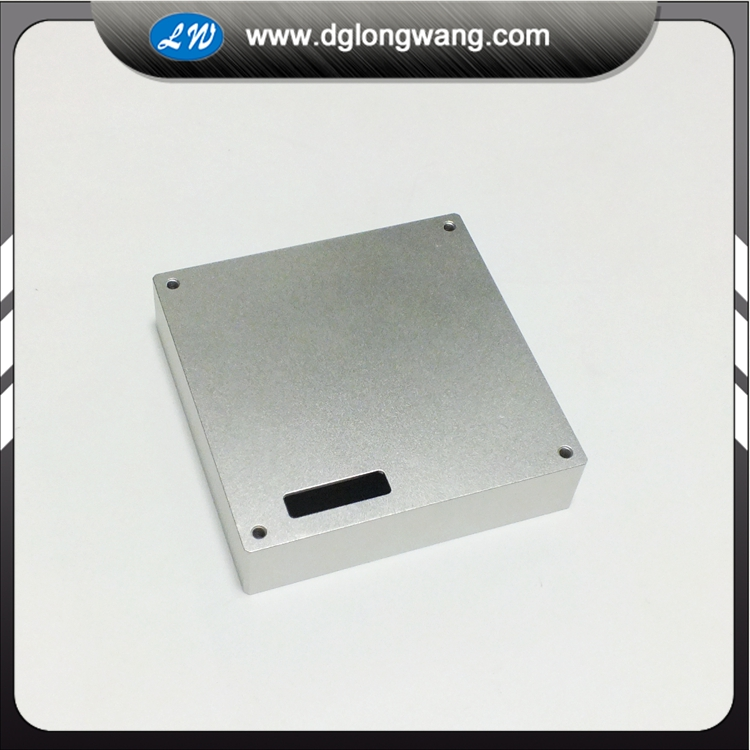 aluminum enclosure machined service