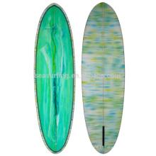 2016 HOT SELLING forte e mais leve prancha de fibra de vidro / prancha de surf
