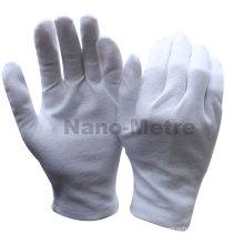 NMSAFETY mostrando produtos usando luvas de algodão