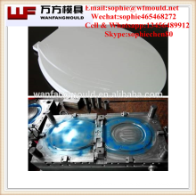 Molde plástico da tampa de banco do toalete do banheiro da injeção feito em taizhou