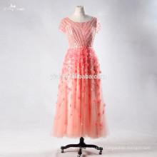 RSE705 Robe de soirée Robe de soirée Robe de soirée en cristal Embellishments pour courte perruque