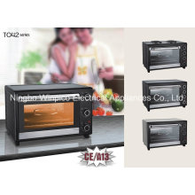 CE A13 Approval Toaster Oven, 1800-Watt 9-Slice Countertop Convection Oven and Broiler with Nonstick Interior