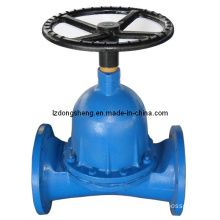 Dn200 Ductile Iron Flanged Type Diaphragm Valve