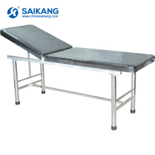 X09-Krankenhaus-Patienten-Metallarzt-Prüfungs-Bett