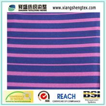 Fios Dyed Spun Silk e Algodão Both-Side Twill Stripe Estilo