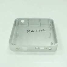 CNC machining small aluminum project box for hard disk CNC machined