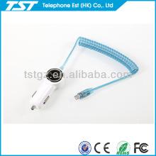 Für Iphone5 Auto-Aufladeeinheit mit Kabel für Telefon