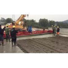 Paving leveling machine for road construction paver