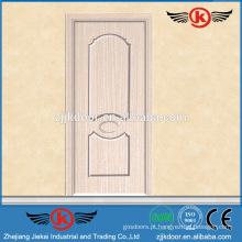 JK-MW9010B cor elegante e design agradável porta de madeira de acabamento de melamina