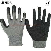 Gants de travail en sécurité revêtues au latex (LS214)