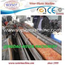 Línea de máquina de producción de perfil WPC PVC para ventana y puerta