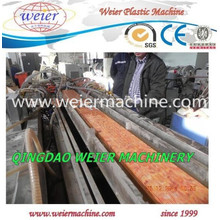 Linha da máquina da produção do perfil do PVC de WPC para a janela e a porta