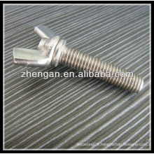 stainless steel bolt and wing nut