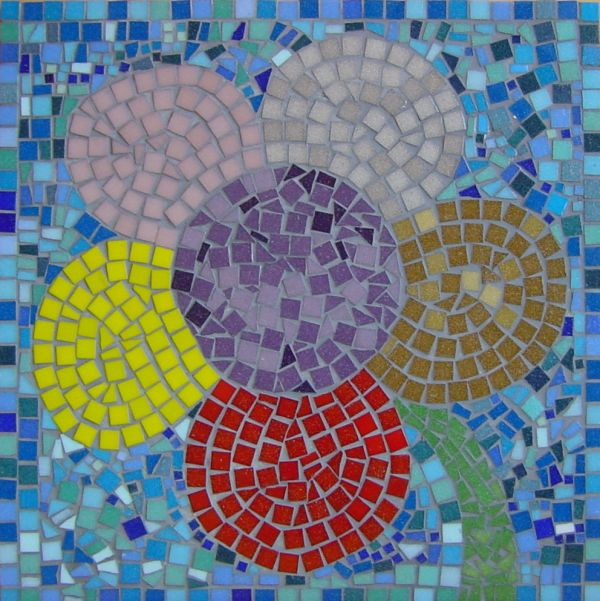 Loose Crystal Glass Mosaic Tile For DIY