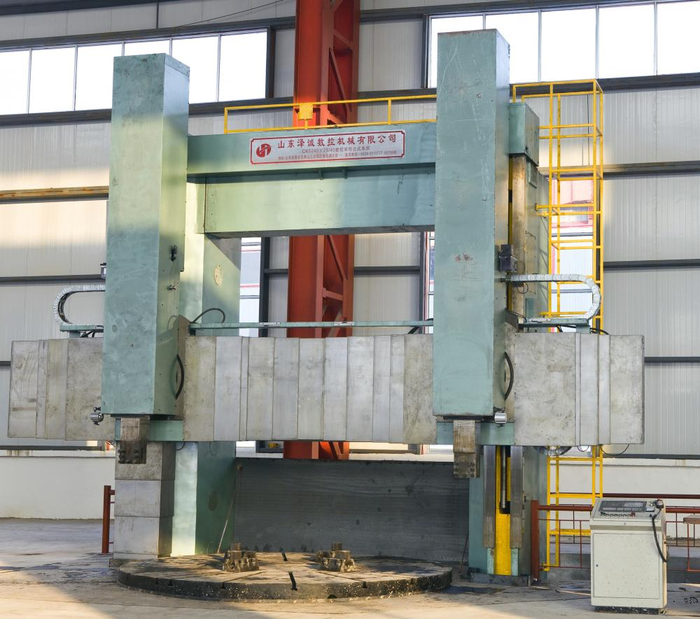 Double Column CNC Vertical Turning Lathe
