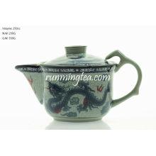 200cc Традиционный Чайный Горшок Дракона & Феникса