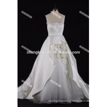 Милая Паффи свадебное платье 2017 ручной цветок свадебные платья