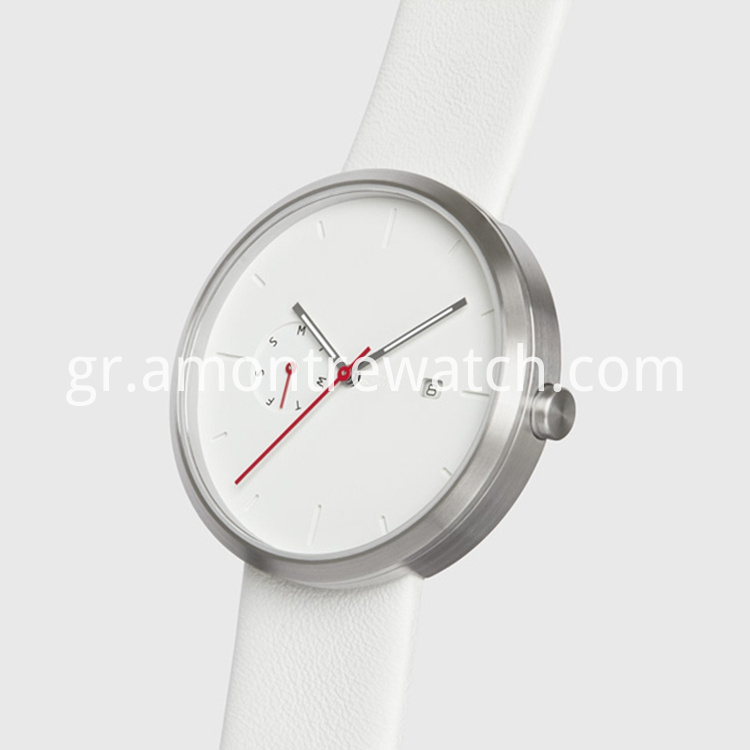 quartz watch stainless steel japan movt