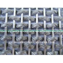 Treillis métallique en fil d'aluminium