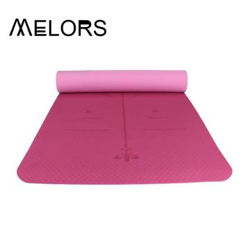 Großhandel personalisierte Doppeltöne Yoga-Matte