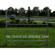 Panneau de cheval galvanisé HD de 8 rails