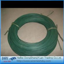 Fio de ferro revestido de PVC ou cabide de fio