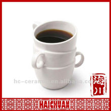 Tazas de la novedad de la porcelana, taza creativa, taza de la manija de cerámica 3